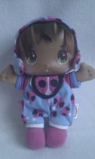Adorable My 1st Baby Lil Ladybird' Playskool Rattle Plush Doll